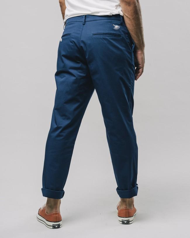 Pleated chino pants navy - Brava Fabrics num 2