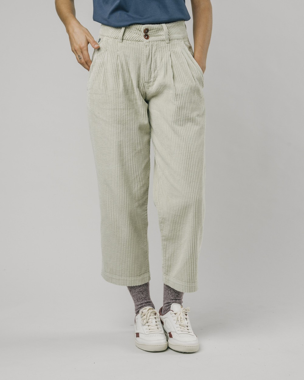 Corduroy pants raw - Brava Fabrics