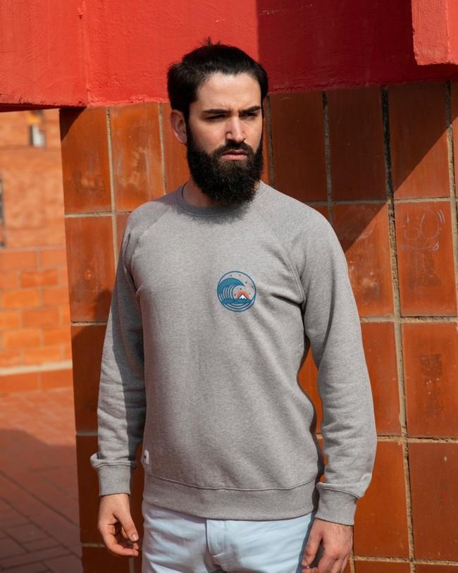 Sweatshirt japanese wave - Brava Fabrics num 3