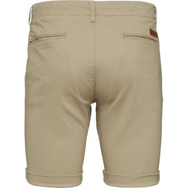 Short chino beige en coton bio - Knowledge Cotton Apparel num 1