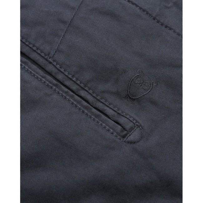 Chino slim bleu nuit en coton bio - joe - Knowledge Cotton Apparel num 3