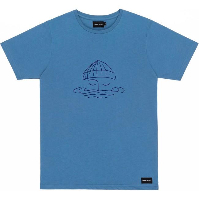T-shirt en coton bio blue sailor - Bask in the Sun