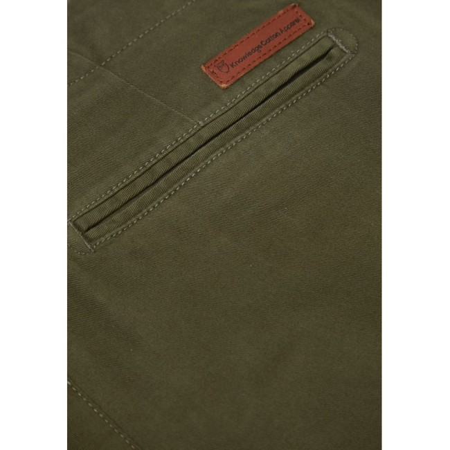 Pantalon kaki en coton bio - Knowledge Cotton Apparel num 2