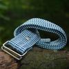 Belt corde triple - tricolore bleue - La Vie est Belt - 3