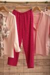 Pantalon provence rose à pois - Bagarreuse - 3