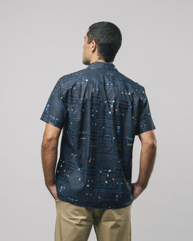 Maze pac-man™ x brava aloha shirt - Brava Fabrics num 5