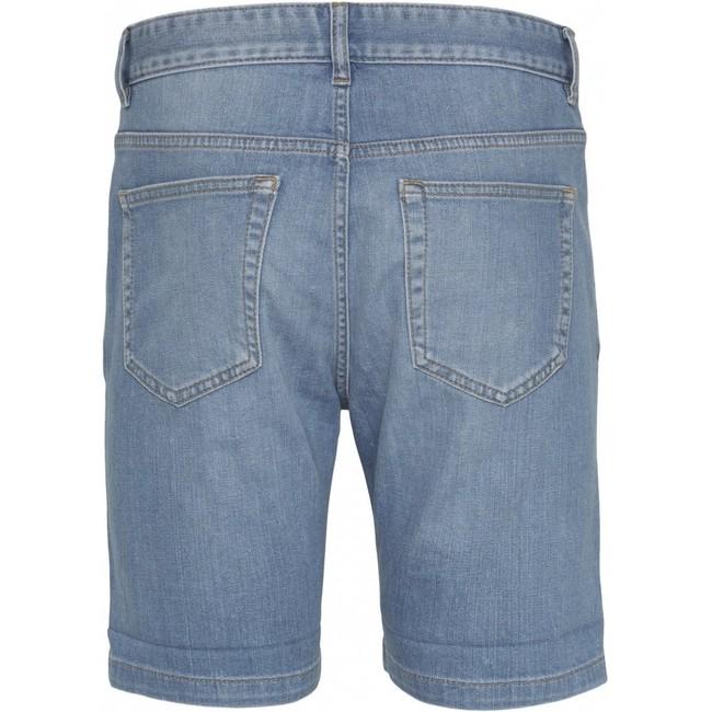 Short en jean bleu en coton bio - birch - Knowledge Cotton Apparel num 3