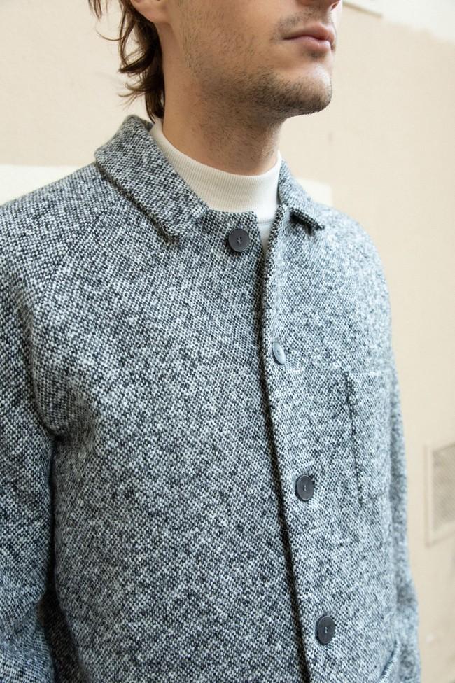 Veste sapporo laine poivrée - Noyoco num 1