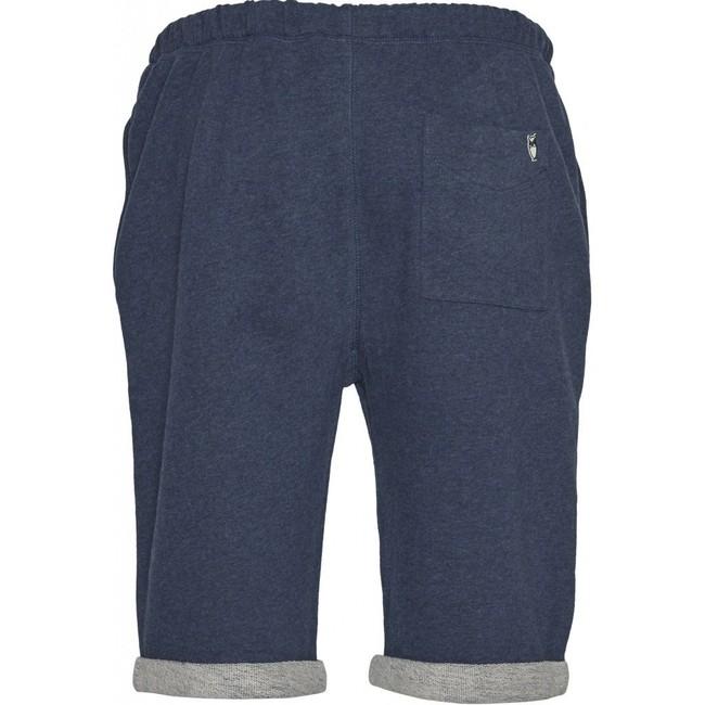 Short jogging marine en coton bio - Knowledge Cotton Apparel num 1