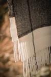 Étole - plaid à carreaux en baby alpaga - Pitumarka - 3