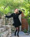 Robe iris - noir - April & C - 1