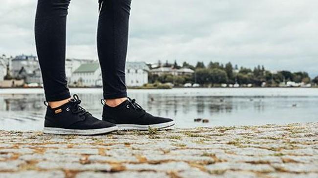 Chaussures recyclées semnoz femme noir - Saola num 1