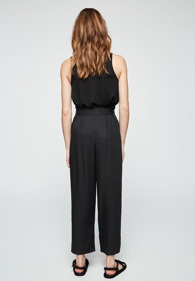 Pantalon noir en tencel - timeaa - Armedangels num 2