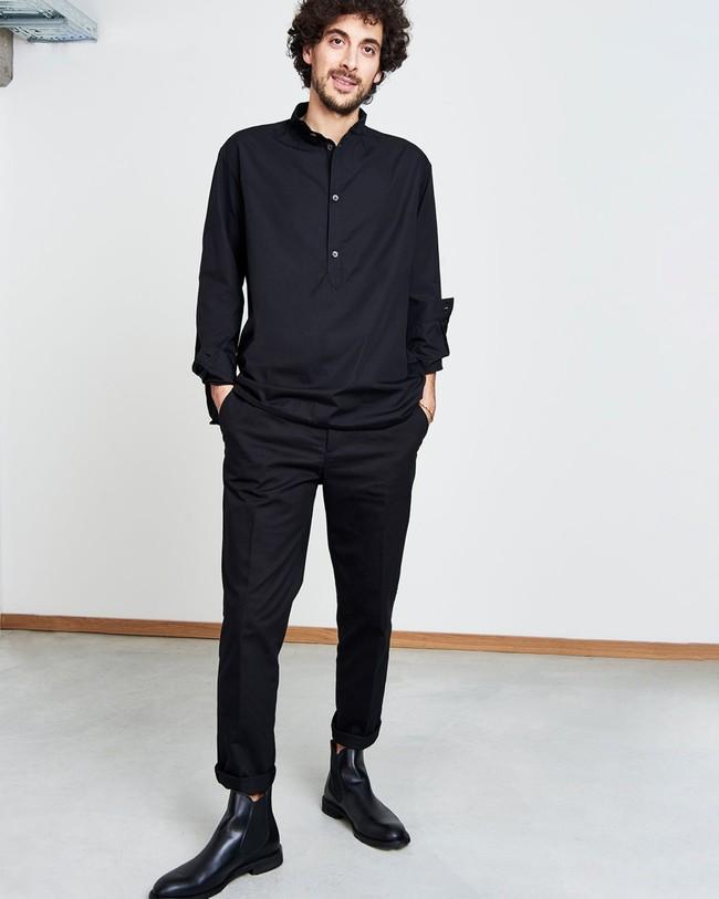 Pantalon noir - liam - Jan'n June num 2