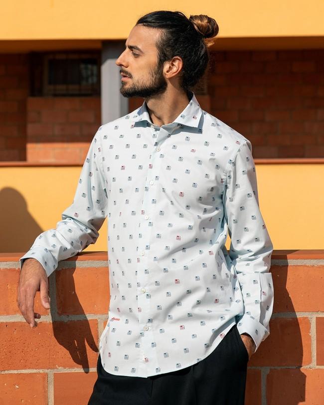 90's diskettes printed shirt - Brava Fabrics num 7