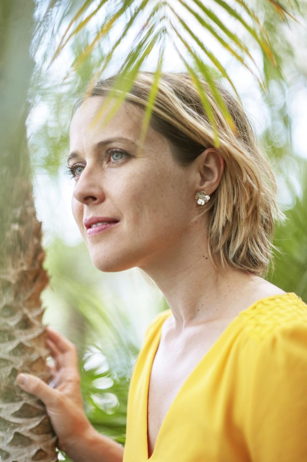 Boucles d'oreilles mesua ferrea - Elle & Sens