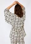 Kimono cassis // noir et blanc - Bagarreuse - 3