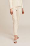 Pantalon tailleur new-york ivoire - 17h10 - 1