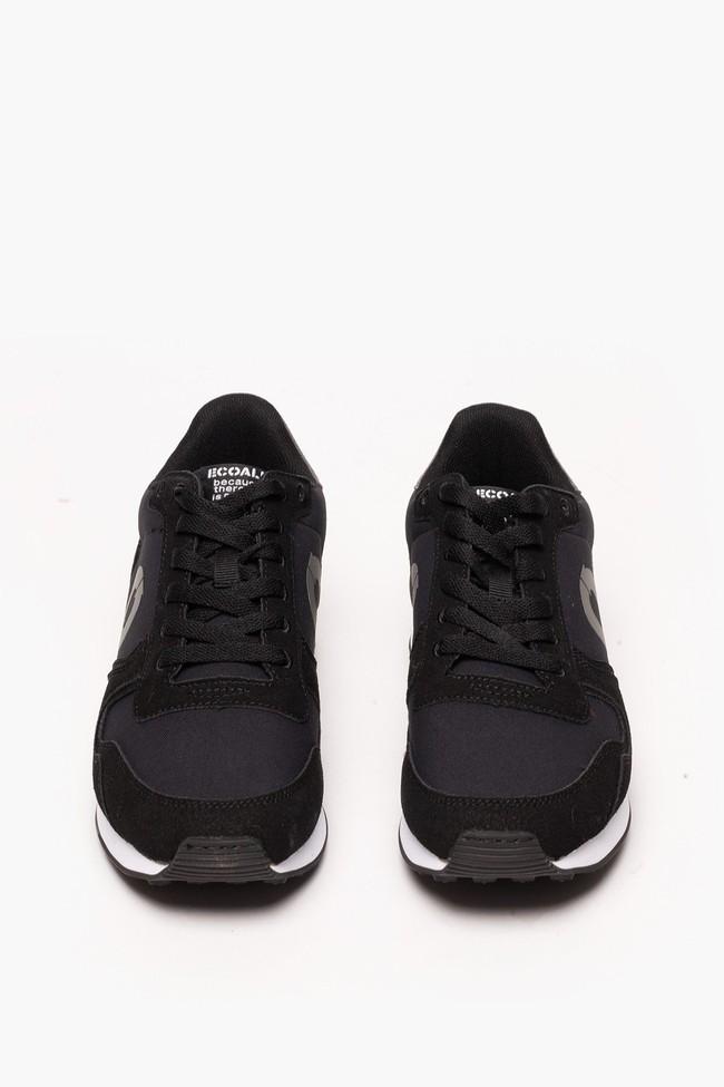 Baskets noires en nylon recyclé - yale sneakers - Ecoalf num 1