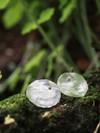 Boucles d'oreilles pilea en argent recyclé - Elle & Sens - 1