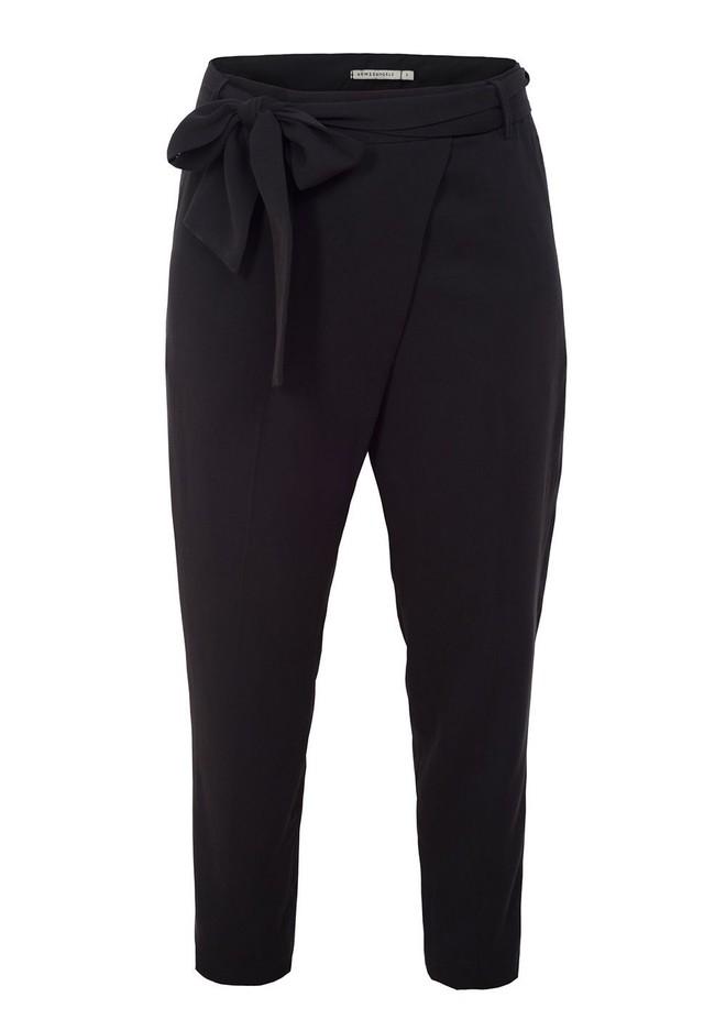 Pantalon noir en tencel - jolena - Armedangels num 4