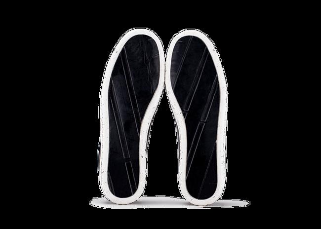 Chaussure en gravière cuir noir / semelle mouchetée - Oth num 4