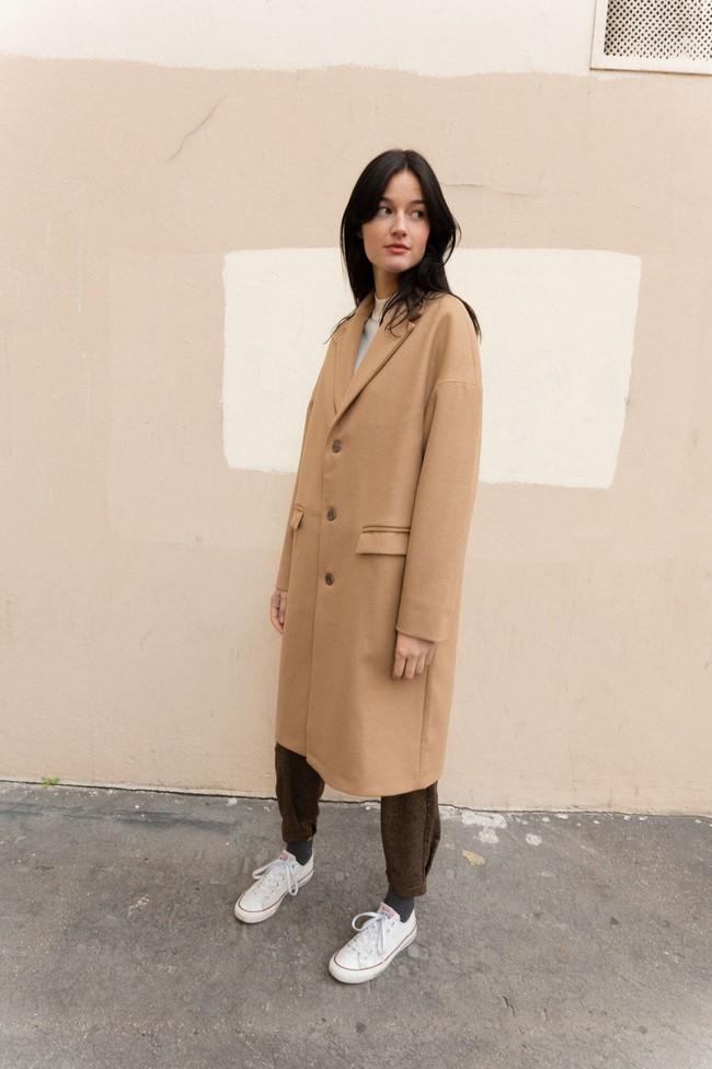 Manteau genoa laine & cachemire - Noyoco num 7