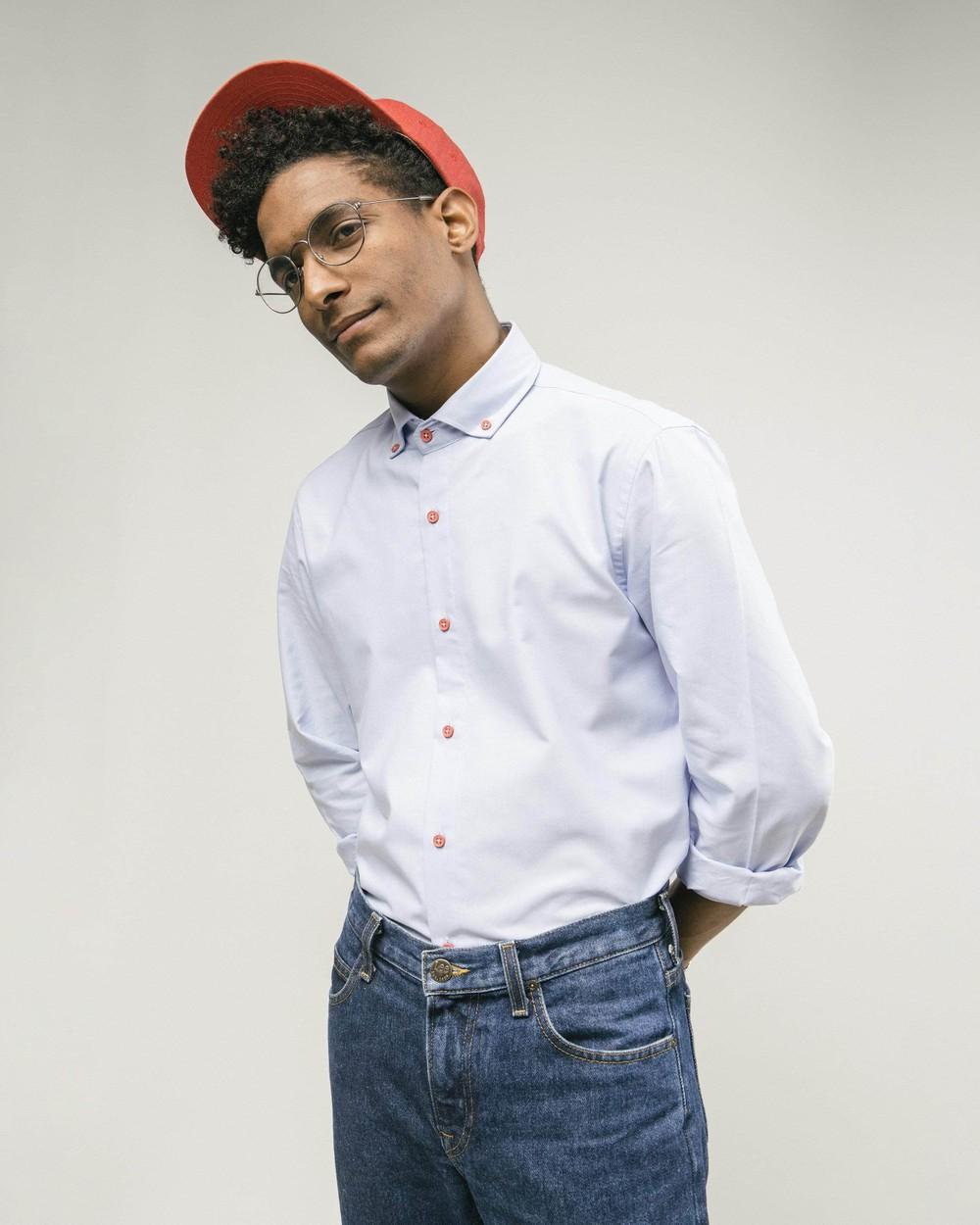 Red dots essential shirt - Brava Fabrics