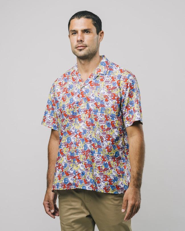 Power up pac-man™ x brava   aloha shirt - Brava Fabrics