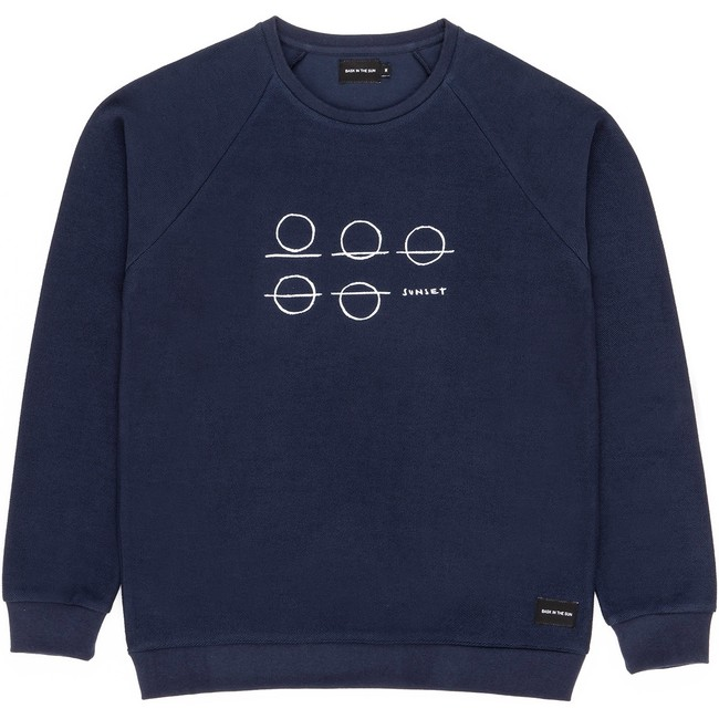 Sweat en coton bio navy beleza - Bask in the Sun