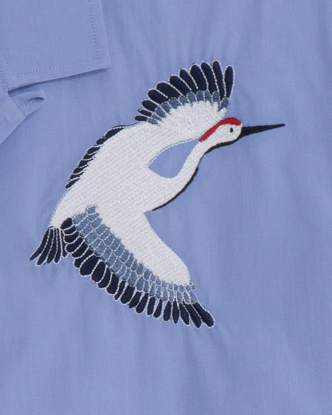 Crane for luck essential shirt - Brava Fabrics num 3