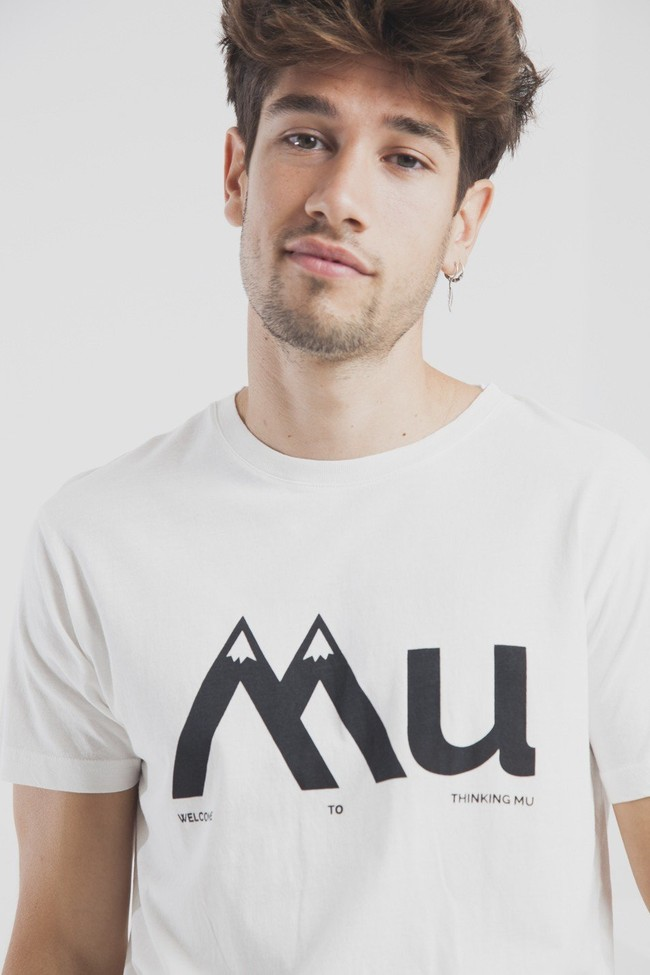 T-shirt en coton bio montagne mu - Thinking Mu