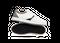 Chaussure en glencoe cuir blanc / suède gris clair - Oth num 0