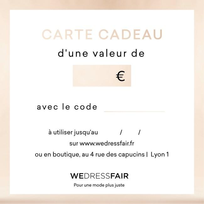 Carte cadeau - 25€ - WeDressFair num 2