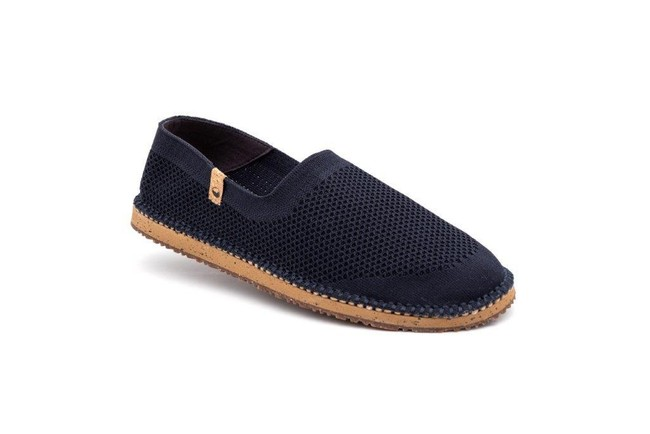 Chaussures recyclées sequoia navy - Saola