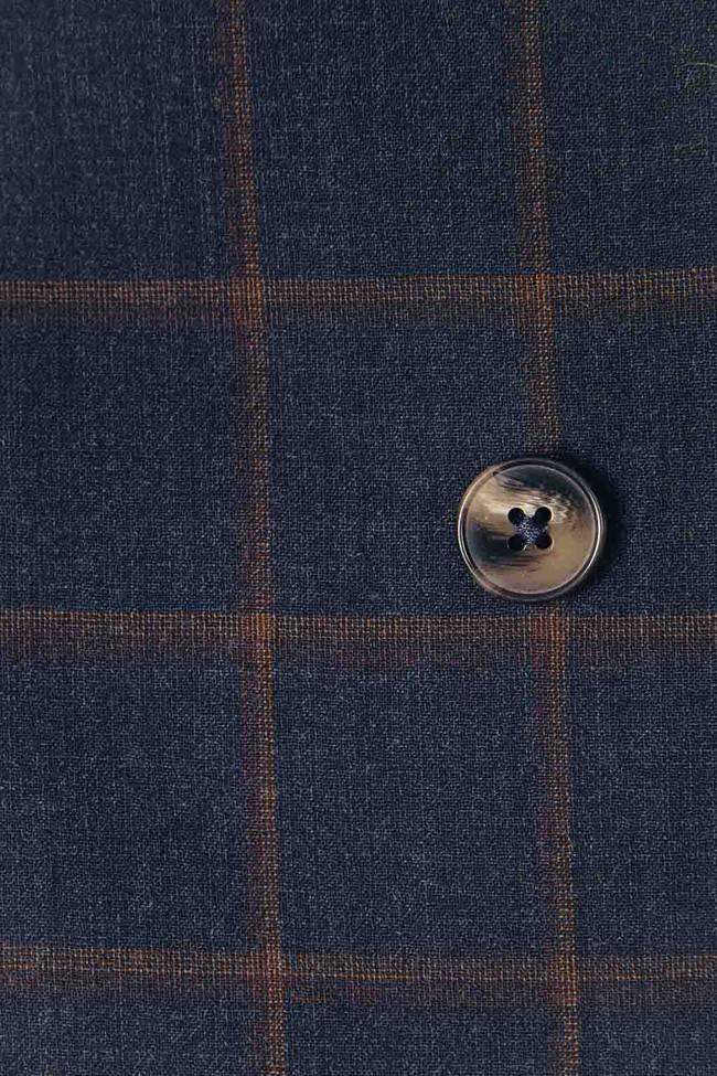 Veste tailleur boston bleu d'écosse - 17h10 num 3