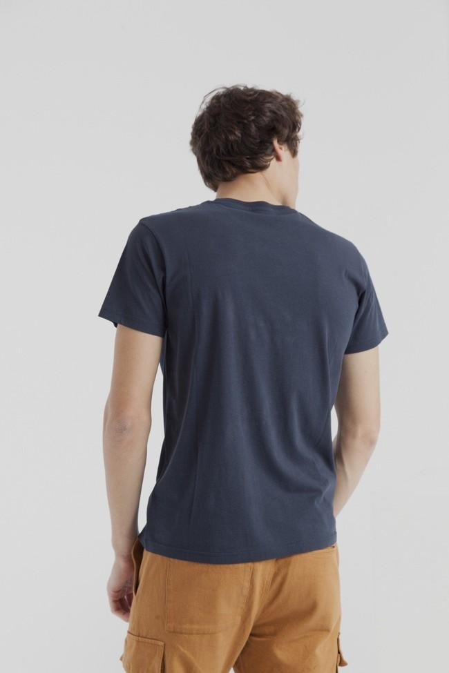 T-shirt marine en coton bio - planet ocean - Thinking Mu num 3