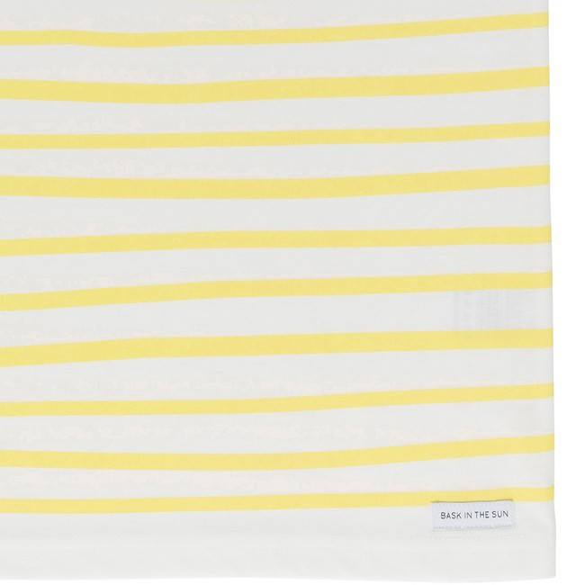 T-shirt en coton bio yellow esperanza - Bask in the Sun num 3