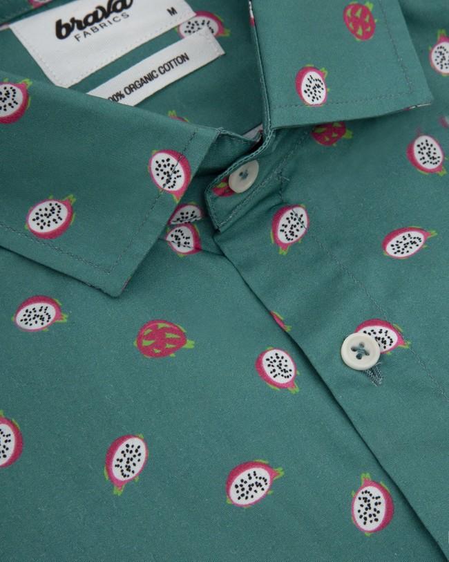 Pitaya paradise printed shirt - Brava Fabrics num 3