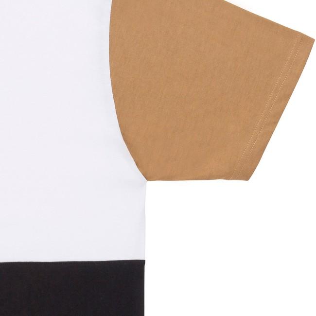 T-shirt en coton bio white teofilo - Bask in the Sun num 2