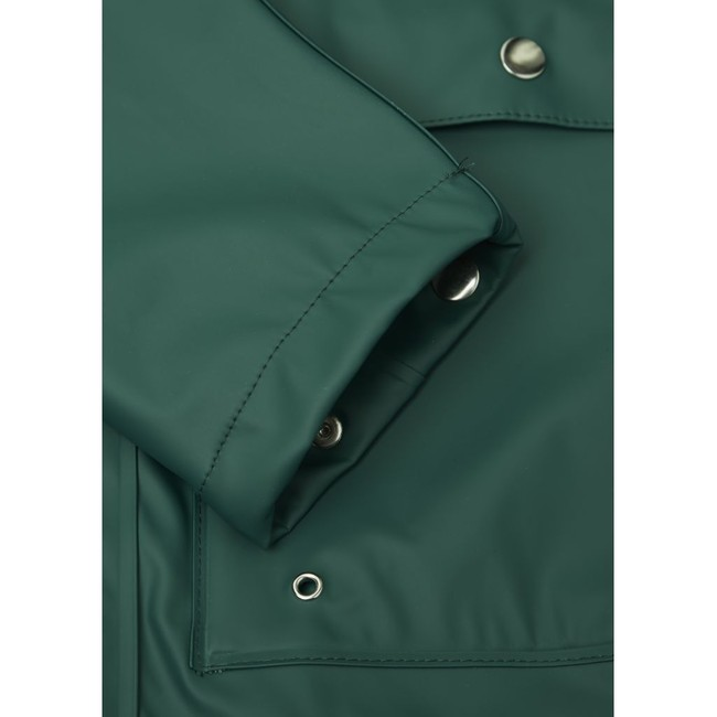 Imperméable vert en polyester recyclé - Knowledge Cotton Apparel num 2