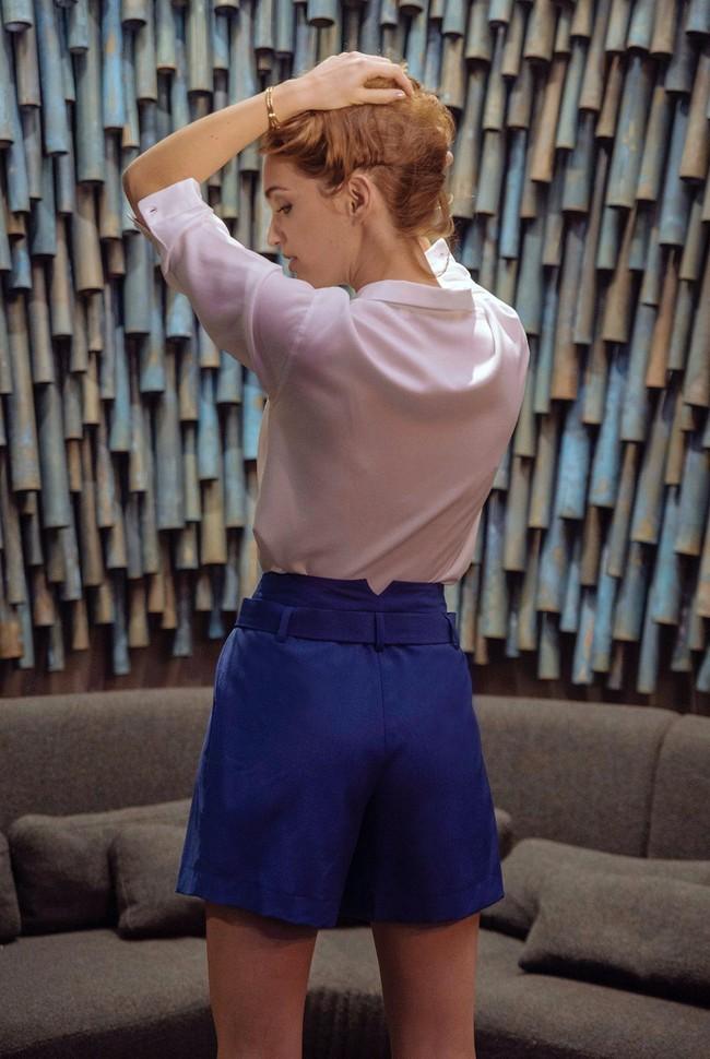 Short tailleur rome bleu royal - 17h10
