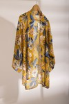 Kimono cassis // jaune - Bagarreuse - 1