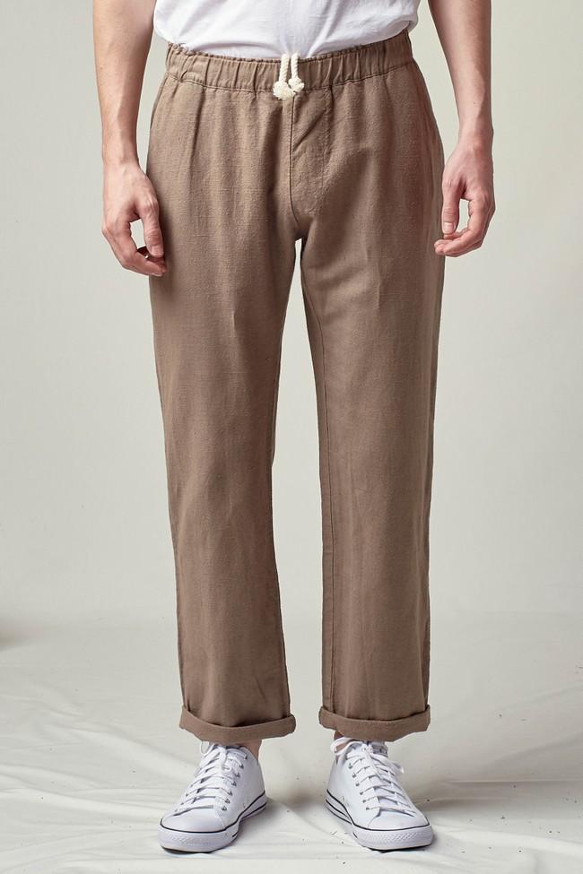 Pantalon tenerife en lin - Noyoco num 9