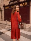 Robe couleur brique - Maison Alfa - 2