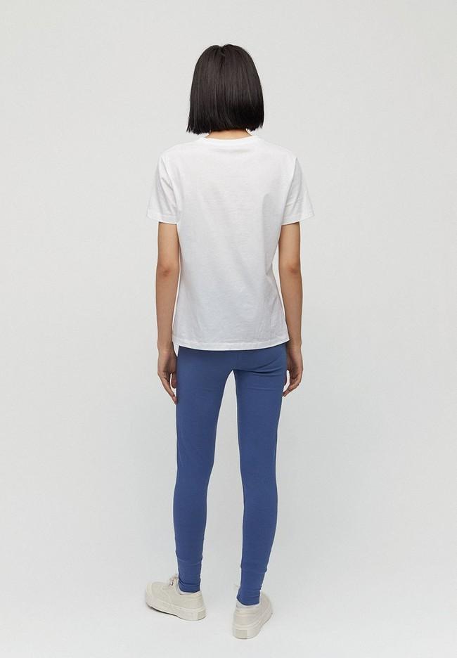 Legging bleu indigo en coton bio - faribaa - Armedangels num 1