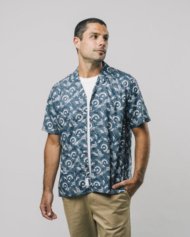 The osaka parasol aloha shirt - Brava Fabrics