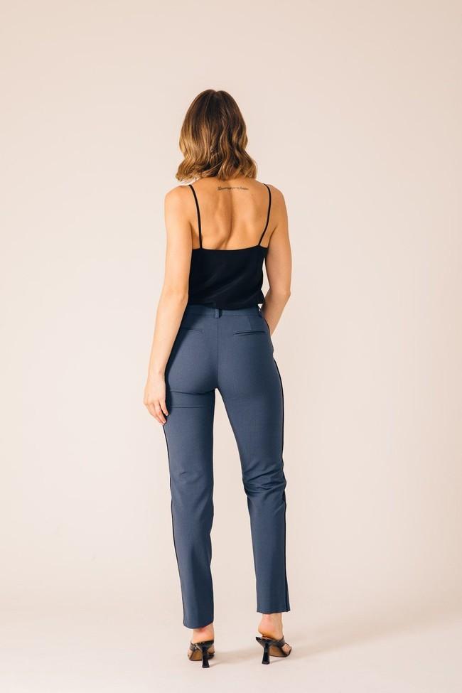 Pantalon tailleur new-york pétrole - 17h10 num 3