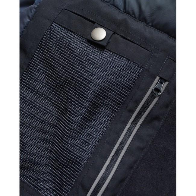 Parka marine en polyester recyclé - Knowledge Cotton Apparel num 3