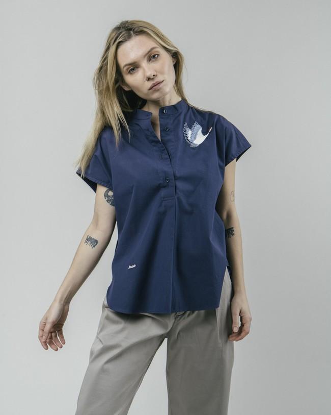 Crane for luck essential blouse - Brava Fabrics